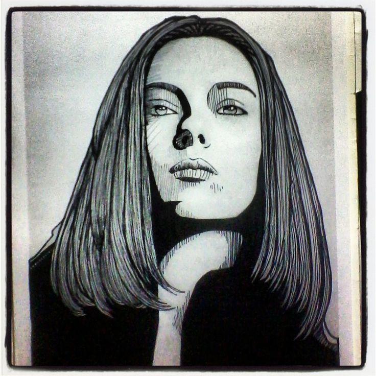 Natasha Romanoff - Black Widow - Scarlett Johanson - #avengers #vengadores #marvel #capitánamerica #captainamerica #ironman #tonystarks #blackwidow #viudanegra #steverogers #robertdowneyjr #hulk #brucebanner #markruffalo #chrisevans #scarlettjohansson #natasharomanoff #ilustración #retratos #dibujo #draw #sketch #art #arte