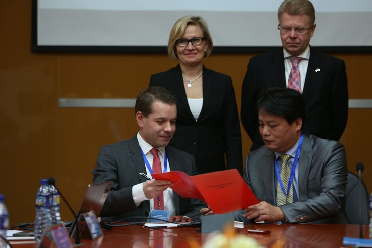 """Cleantech Finland @ Radical Design Week Shanghai 2012  -  Read more: """"Cooperation agreement signed between Cleantech Finland, Finpro and Jiaxing Nanhu District Government in China"""" here http://www.solved.fi/?q=node/1297"""