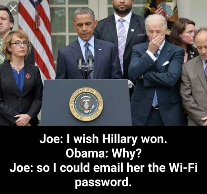 Joe Biden is a savage