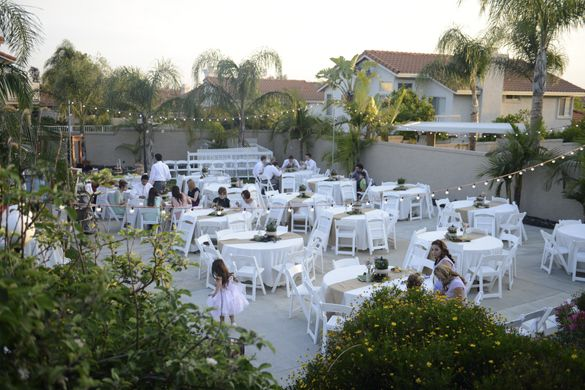 Backyard Wedding Venues : Wedding Reception