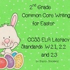 This is a 2nd Grade Common Core writing unit for Easter.  Second graders should be able to write persuasive papers, informative papers and narrativ...