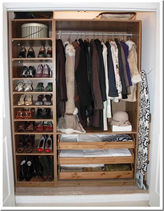 68 best images about small closet ideas on pinterest closet organization closet designs and - Ikea wardrobes for small spaces ...