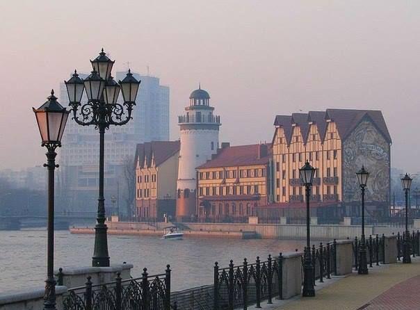 Lighthouse - Kaliningrad /Königsberg, Russia.    Набережная Калининграда