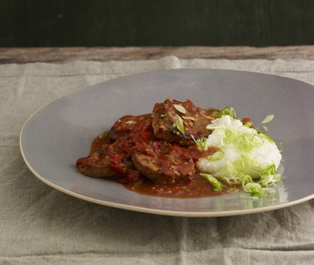 Creole Beef Grillades Recipe | from Harvest To Heat cookbook | House ...