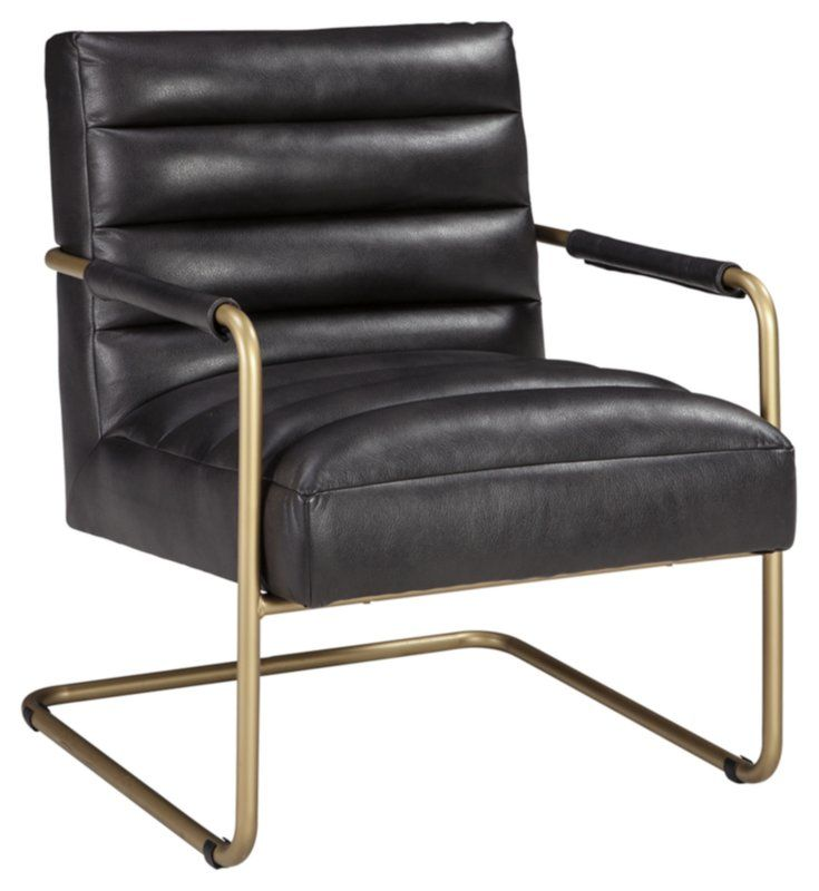 Rayburn Accent Armchair Black Accent Chair Mid Century Modern