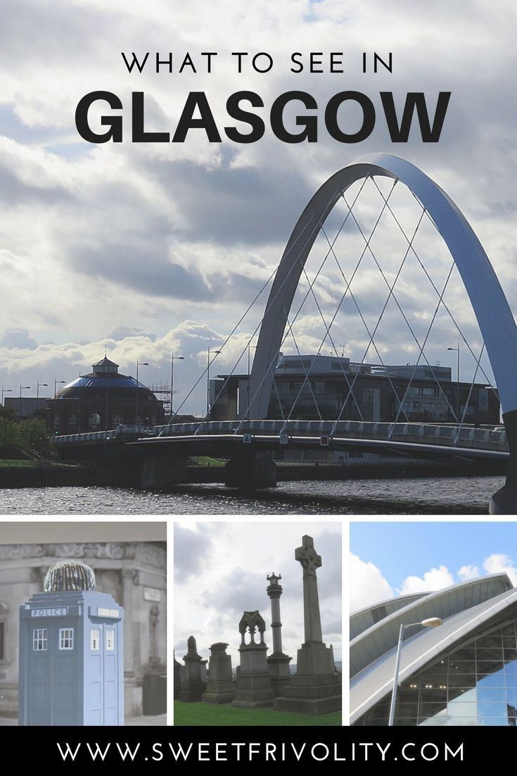 Here are the must-see attractions if you're visiting Glasgow, Scotland. https://www.sweetfrivolity.com/single-post/2017/10/12/What-to-See-in-Glasgow #scotland #glasgow #travel