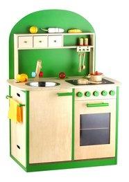 Kinderküche, Sun, Spielküche aus Holz, erhältlich in grün