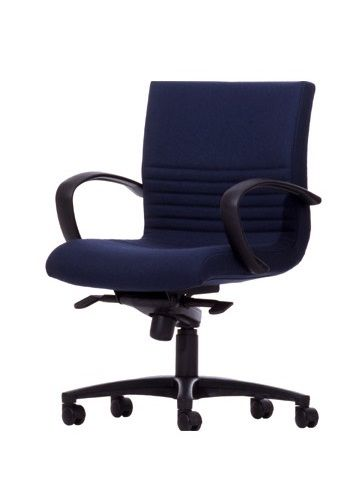 The Boss Executive Low Back Chair features a unique Back ribbing in the Lumbar region and an active moving back design. Available at seated.com.au