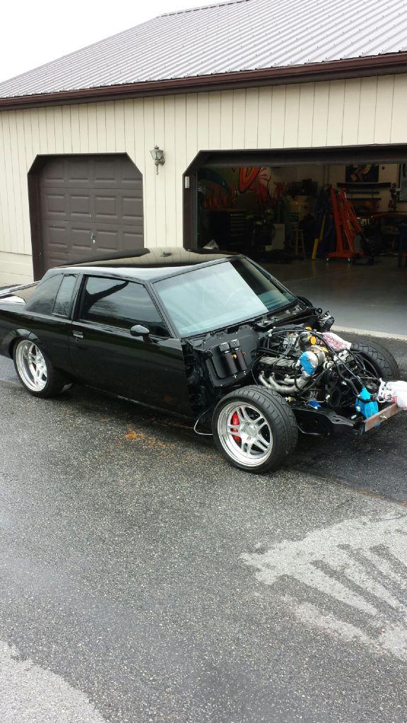 Car Being Built Garage : Garage built buick gn car junk pinterest