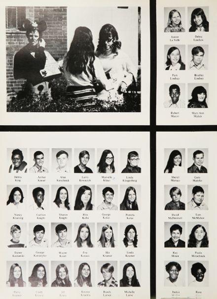 1972 Roosevelt High School Yearbook via Classmates.com