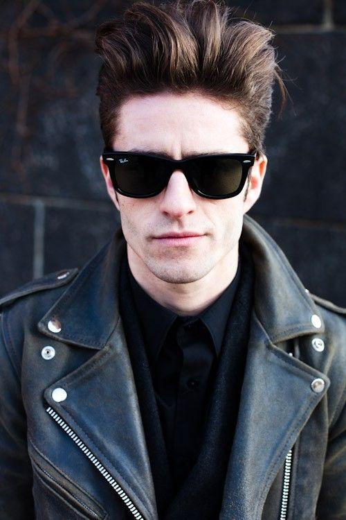 Ryan reynolds, Sunglasses and Henley tee on Pinterest