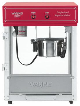 Waring Pro Professional Popcorn Maker 12 cup contemporary-specialty-kitchen-electrics