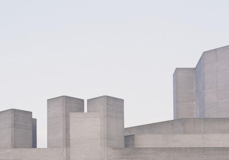 """""""Utopia"""", serie de fotos que captura la Arquitectura Brutalista de Londres, © Studio Esinam / Rory Gardiner"""