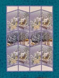Image result for christmas panel quilt pattern