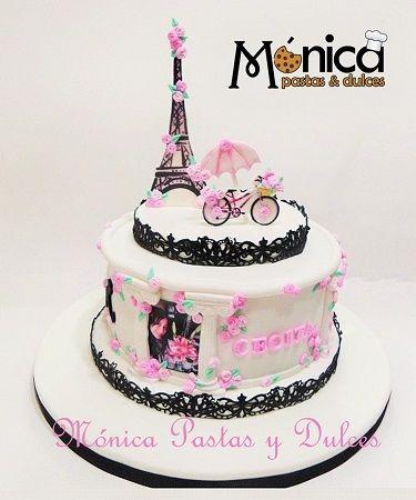 TORTA PARIS de Monica Pastas y Dulces