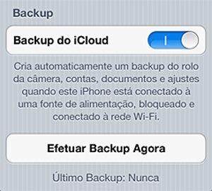 Backup no iOS - Blog do Robson dos Anjos