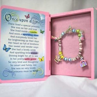 020566 - Girl's Storybook Bracelet in Gift Box | Things Engraved ™