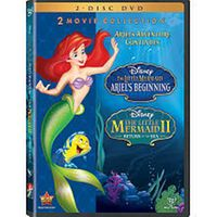 The Little Mermaid II & Ariel's Beginning 2-Movie Collection DVD