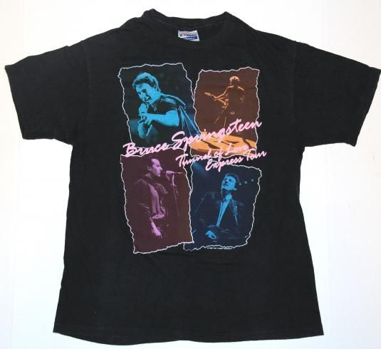 1988 Bruce Springsteen Tunnel of Love Tour Shirt. Very good pre-owned condition.