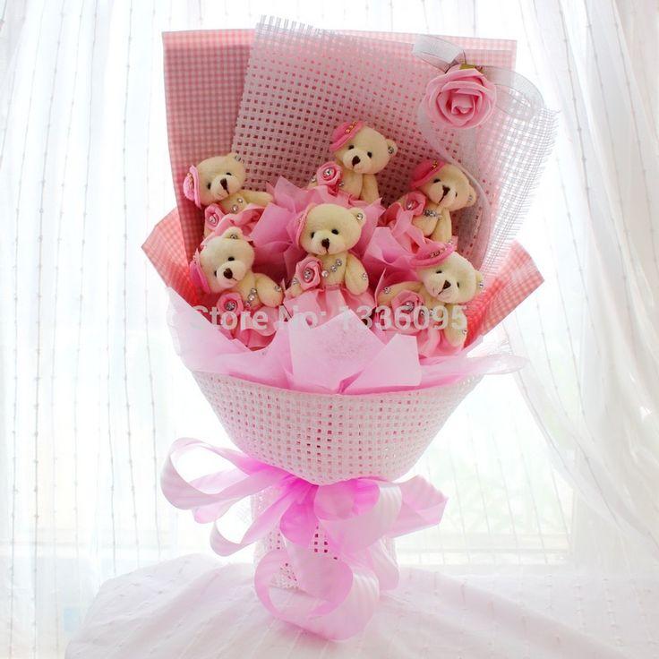 Aliexpress.com : Buy dancing bear pink dream plush teddy bear ...