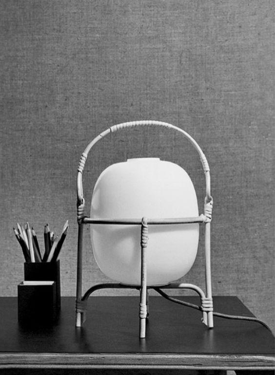 Original Cesta lamp by Miguel Milá, 1962