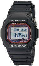 Casio Men's GWM5610-1 G-Shock Solar Watch with Black Band