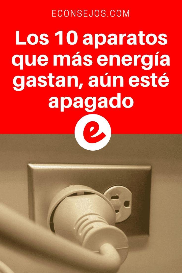 Ahorrar energia electrica   Los 10 aparatos que más energía gastan, aún esté apagado   Después de esta información, usted ahorrará en su cuenta de luz. Además, un video que nos enseña 3 trucos para disminuir su consumo de electricidad. Lea y sepa todo aquí ↓ ↓ ↓