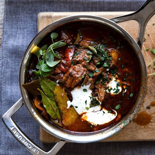 Slow cooked, warm and tasty, goulash is the perfect antidote to cold winter…