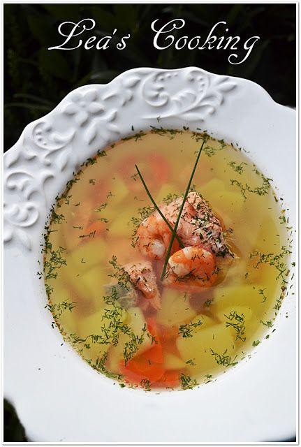 "Lea's Cooking: Fish soup ""Uha"" {Cуп Уха}"