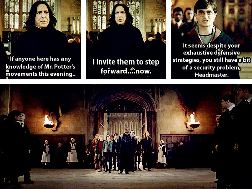 """""""It seems despite your exhaustive defensive strategies, you still have a bit of a security problem, Headmaster."""""""