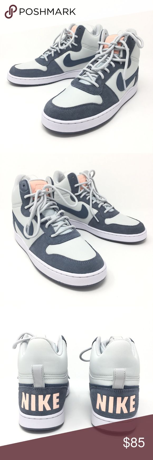 Nike Sneakers Court Borough Mid gray blue Sz 8.5 Nike Sneakers Court Borough Mid Premium Trainers Ladies Gray Blue Shoes Sz 8.5   Size: 8.5 women's  Color: Gray Blue  Style Name/Number: Court Mid Borough   Brand New without original box. Nike Shoes Sneakers