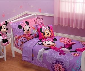 Minnie Mouse Bedding Set | houses all types, every room, indoor, out