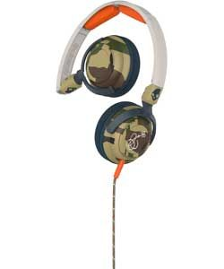 Buy Skullcandy Lowrider On Ear with Mic - Camo/Bone/Slate at Argos.co.uk, visit Argos.co.uk to shop online for Headphones and earphones