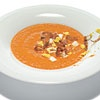 A twist on gazpacho and one of my favorites from Spain!  Salmorejo Cordobés