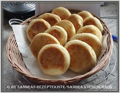 ~~~ Sandras Rezeptekiste ~~~      Kochen, Backen, Rezepte testen: Toasties ~ English Muffins~