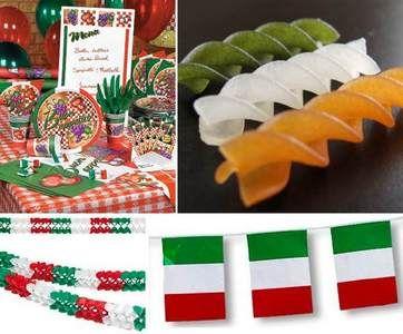 сценарий итальянской вечеринки