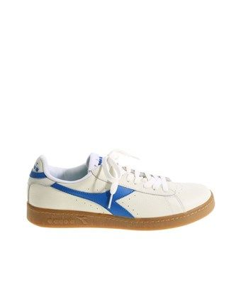 0ac3d214109c3 DIADORA DIADORA MEN'S WHITE LEATHER SNEAKERS. #diadora #shoes ...