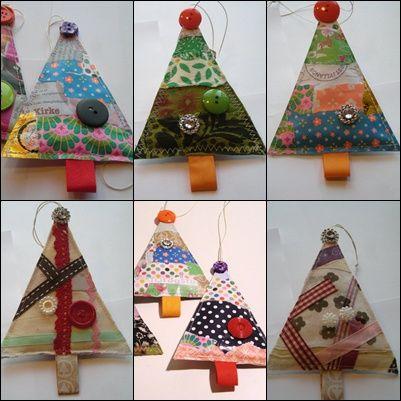 Temaet for årets julepynt har været juletræer... Konceptet for julepynten er at jeg selv skal have tegnet og udtænkt julepynten,desuden s...