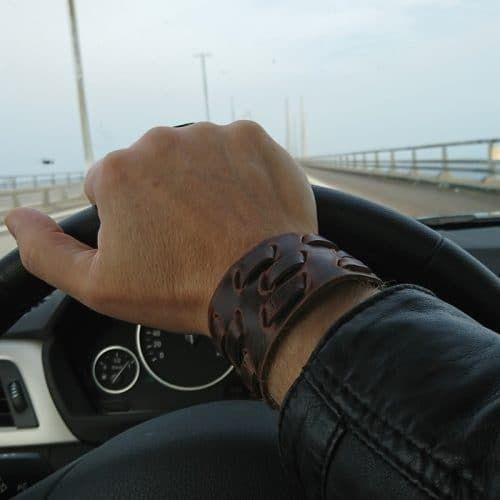 Leather Cuff !!