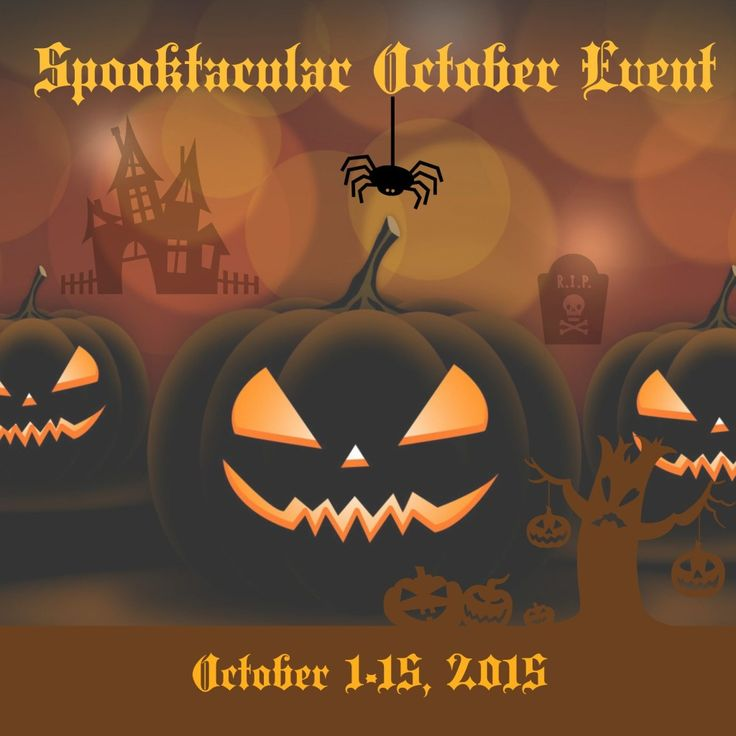 2015 Spooktacular October Event – Multiple Prizes to be Won