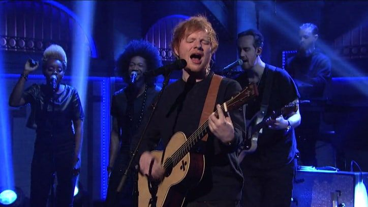 Watch Ed Sheeran Bring 'Divide' Singles to 'SNL'