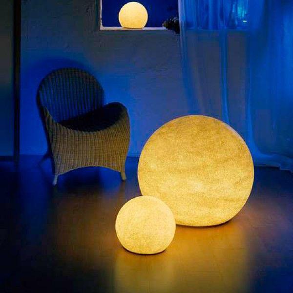 Stunning Stone Look Daylight Color Moonlight Globes
