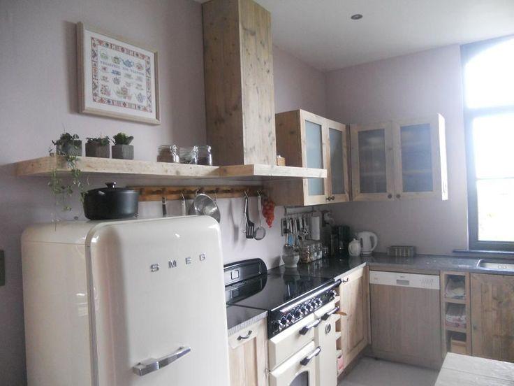 keuken oud steigerhout ref Loker - keukens - binneninrichting