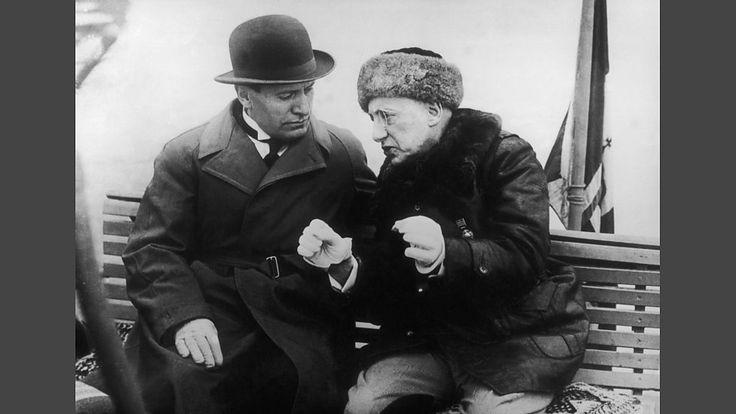 Mussolini & D'Annunzio