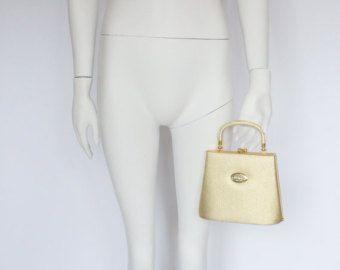 Gianni Versace vintage gold evening handle purse bag clutch -    Edit Listing  - Etsy