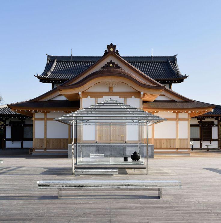 Tokujin Yoshioka, Yasutake Kondo · KOU-AN Glass-Tea House · Divisare