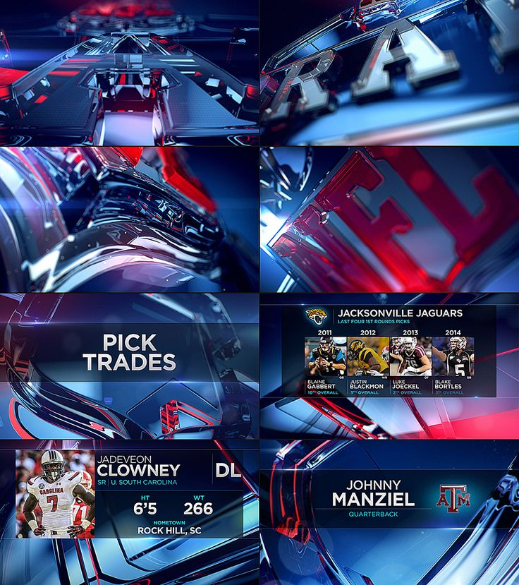 NFL NETWORK - NFL DRAFT 2014 - STATE DESIGN