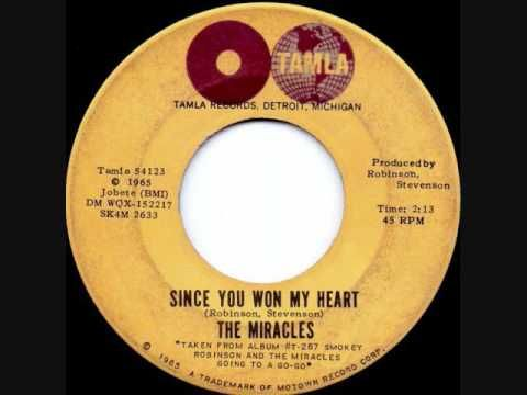 Smokey Robinson - Since You Won My Heart