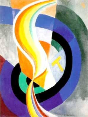 Robert Delaunay ~ Helice, 1923