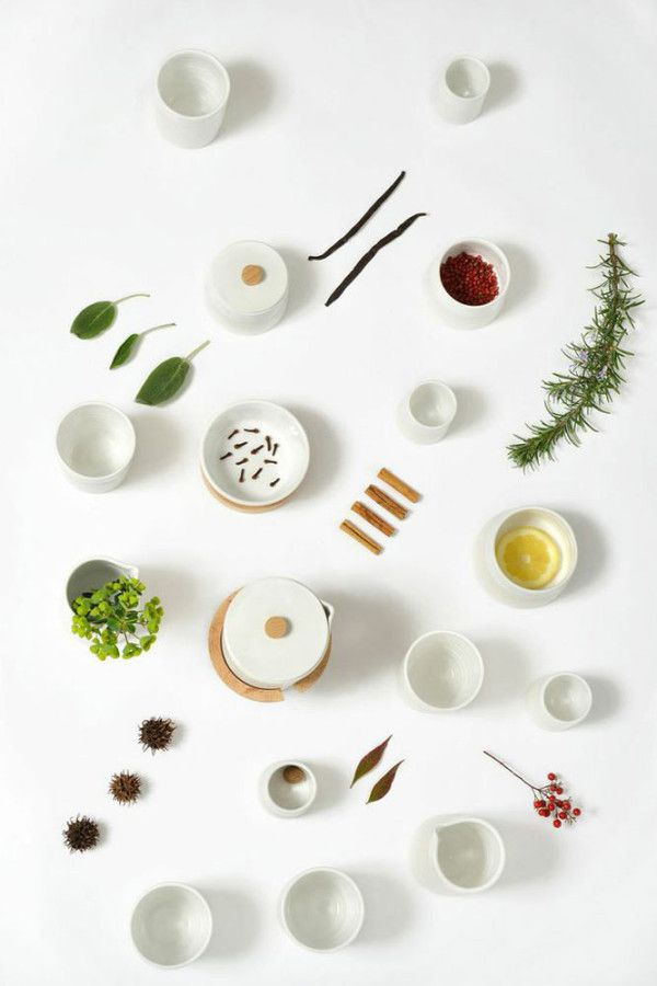 Les Madeleines – a collection of simple and functional tableware
